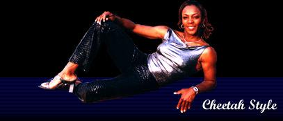 Former three time female kick boxing world's champion, Fredia